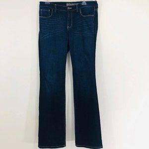 New York & Company Woman Sz 10 Long Jeans Bootcut